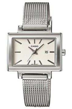 Casio Women's LTP1332BD-7A Silver Stainless-Steel Quartz Watch with White Dial Casio. $36.86. 31mm Case Diameter. 50 Meters / 165 Feet / 5 ATM Water Resistant. Mineral Crystal. Quartz Movement. Save 26% Off!
