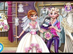 Elsa Preparing Anna Wedding - Frozen Games