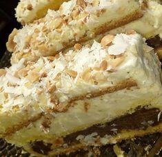 Greek Desserts, Trifle Desserts, Summer Desserts, Greek Recipes, No Bake Desserts, Cake Recipes, Dessert Recipes, Cheesesteak, Beautiful Cakes