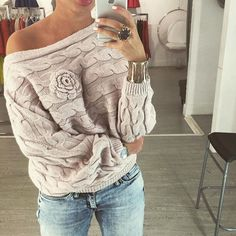 da8e174fb81 Anne shop winter women ladies jumpers sweater Twisted batwing sleeve off  shoulder knitted pullover jersey