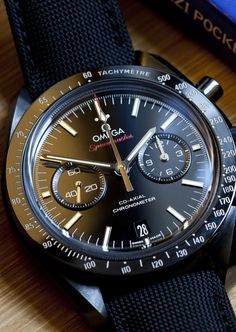 Wednesday Video Rewind: A Week On The Wrist With The Omega Speedmaster Dark Side Of The Moon