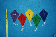 5 Little Kites Flannel Board Felt Board Story