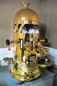 Vintage Style (1930) Espresso Machine - Jacarépagua - Rio