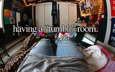 "Having A ""Tumblr"" Room."
