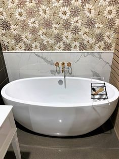Fancy Fixtures of Jericho has done an amazing job displaying the Contura II. The tile and brass fixtures set the stage! Showroom, Stage, Bathtub, Brass, Fancy, Display, Amazing, House, Standing Bath