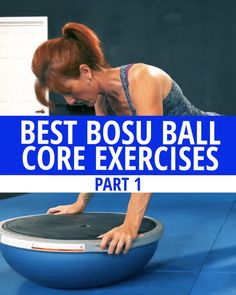Bosu Workout, Workouts, 6 Pack Abs Diet, Bosu Ball, Back Pain Exercises, Youtube Search, Muscle Training, Ab Workout At Home, Excercise