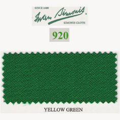 Kit tapis Simonis 920 7ft Yellow Green - 110,00 €  #Jeux