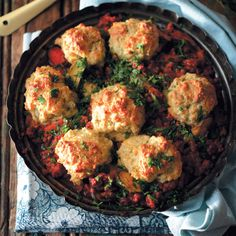 Try a delicious Beef Cobbler to keep your insides warm during the cold season.