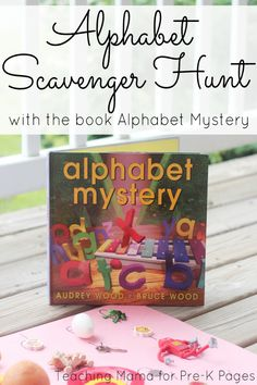 Alphabet Scavenger Hunt for preschool