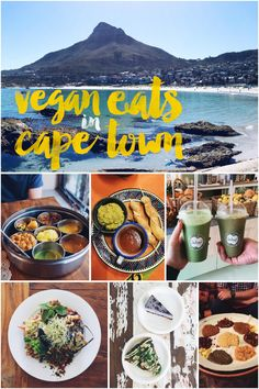 Vegan Eats and Restaurants in Cape Town, South Africa. Western Cape has some of the best produce. While there aren't a lot of exclusively vegan restaurants, the city has a growing number of vegan-friendly establishments making it easy to find Vegan Eats in Cape Town. #vegan