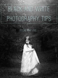 Do you know what makes a good black and white image? Learn how to shoot great black and whites in this photography tutorial! #photographytutorials