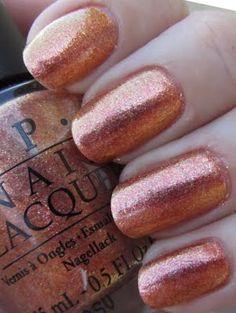 OPI Pros & Bronze nail polish