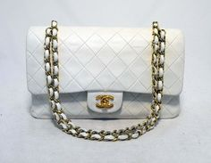 Chanel Leather 10in 2.55 Double Flap Classic Shoulder Bag $4,125