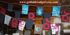 CUSTOM Prayer Flags Grateful Dead Phish Jerry Garcia 13 pt Bolts Tie Dye Indoor Outdoor Camping Festivals on Etsy, $30.00