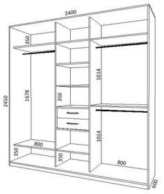 конструкция шкафа купе - Поиск в Google