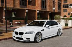 BMW M5 everyday vehicle.
