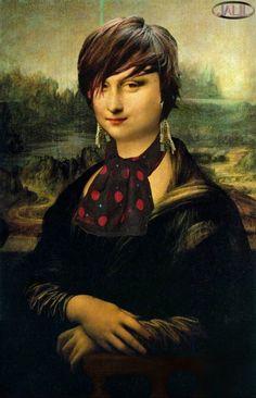 Joconde Mona Lisa la sage