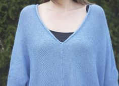 Free Bird hand #knitting #pattern #tunic #alpaca