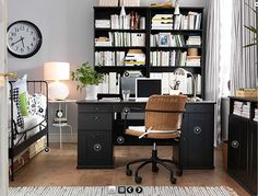 1000 images about bedroom office on pinterest bedroom office spare bedroom office and offices - Office bedroom combo ideas ...