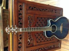 Crafter FX550 Guitar Solid spruce top Marine by WMcFlameworks, $165.00