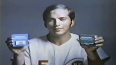 Johnny Bench - Gillette Commercial (1970).  I was glued to the TV when this commercial came on.