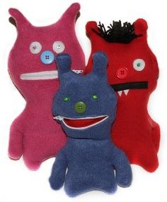 Zippi dolls/ ugly dolls could make a great project - design, research, modern and uptodate and basic electronics and plenty of textiles skills