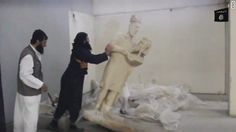 ISIS has again destroyed cultural treasures, this time bulldozing the site of the ancient Assyrian city of Nimrud in northern Iraq, state-run media said.
