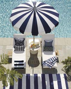 For the breezy days ahead | Eastport Umbrella via Serena & Lily