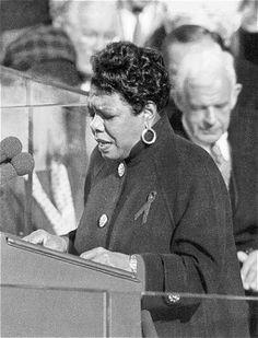 Maya Angelou (1928 - 2014) American Poet, Author, Singer, Dancer and Actress