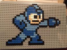 Megaman Pixel Art from BrikBook.com gaming, video game, nintendo, video games…