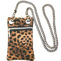 Mini Bag estampado leopardo Animal Prints, Madrid, Wallet, Personalized Items, Chain, Mini, Bags, Fashion, Throw Pillows