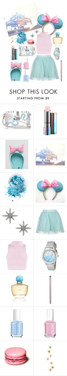 """""""Wishes and Bows"""" by toneverneverlandears on Polyvore featuring Dolce&Gabbana, MAC Cosmetics, Melissa, In Your Dreams, Miss Selfridge, Boohoo, Disney, Oscar de la Renta, Urban Decay and Essie"""