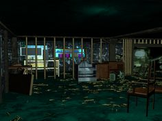 abandoned military base....2013 3D environment