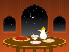 The Food of Ramadan: When and What to Eat — The Ramadan Table