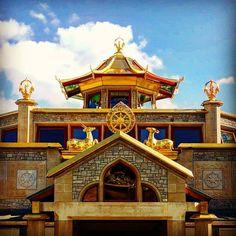 Here is a picture of the amazing World Peace Temple at Manjushri Kadampa Meditation Centre in Ulverston, England.  Absolutely amazing. Ever part having great meaning. I hope everyone can experience such holy place.  #Kadampa #meditation #ModernBuddhism #buddhism #Gelugpa #newkadampatradition #newkadampa #mindfulness #monk #nkt #mindfulness #england #ulverston #lakedistrict #temple #buddhisttemple #buddha #GesheKelsangGyatso #kelsanggyatso