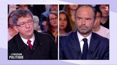 """VIDEO. """"L'Emission politique"""" : regardez l'intégralité du débat entre Edouard Philippe et Jean-Luc Mélenchon"""