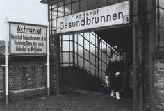 S-Bahnhof Gesundbrunnen, West-Berlin (1962)