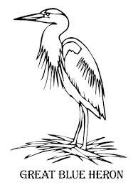 Heron Coloring Pages Select From 30465 Printable Of Cartoons Animals Nature Bible And Many More