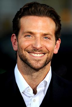 Bradley cooper. His eyes are just so blue.