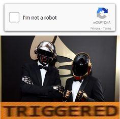Daft Punk really don't like reCAPTCHA! http://ift.tt/2lUGd8P