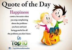 Being grateful ...
