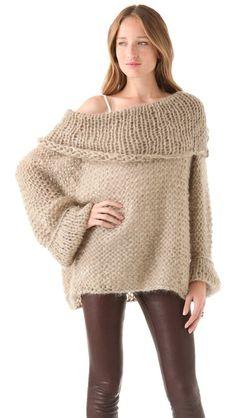Mes Demoiselles Sarah Hand Knit Sweater
