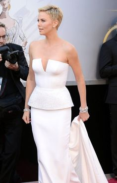 Oscars 2013 WERQ: Charlize Theron in Dior Couture | Tom & Lorenzo Fabulous & Opinionated