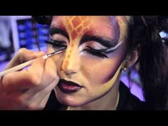 Maquillaje con aerografo SALON LOOK INTERNACIONAL 2012. Escuela makeup CREAtive - YouTube