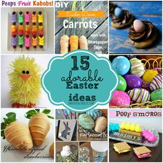 shaken together: 15 Adorable Easter Ideas - features from the {what's shakin'} link party