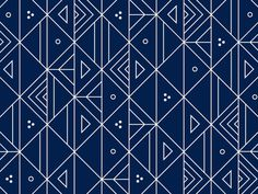geometric blue and white graphic design pattern Geometric Patterns, Graphic Patterns, Textile Patterns, Textiles, Graphic Design, Simple Geometric Pattern, Triangular Pattern, Geometric Designs, Pretty Patterns