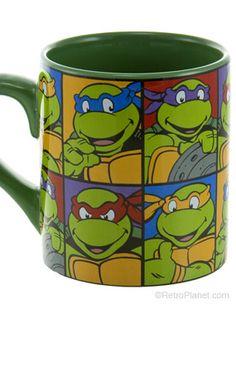 Teenage Mutant Ninja Turtles Ceramic Mug