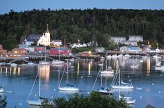 Maine beauty, Boothbay Harbor