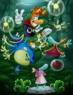 Rayman and Globox - Rayman Series