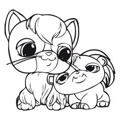 pet shop coloring pages printable | Series Littlest Pet Shop print coloring pages. 28